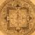 Le mandala est une forme géométrique qui symbolise le cosmos. Ceux ci viennent du Népal, ils sont imprimés au tampon sur de grandes feuilles de papier de riz