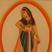 Les artistes de l'Inde peignent sur les textiles aussi minutieusement que sur le papier. Ces miniatures sont peintes sur soie, avec des couleurs végétales.