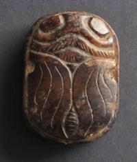 sculpture jade brun antiquite bijou perle tortue chine