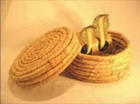panier 2 serpents papier peint qui oscillent inde