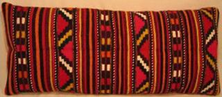 coussin tablier ancien laine tisse main bulgarie