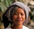 krama turban cambodge
