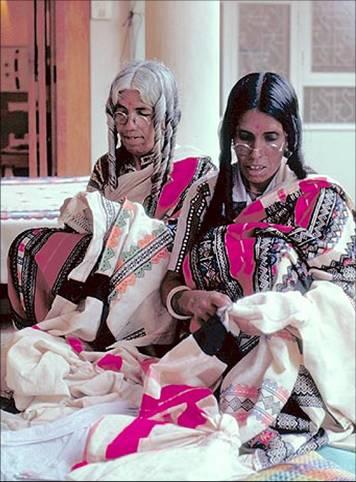 brodeuses tribu toda monts nilgiri inde