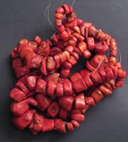 perles corail chine