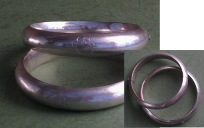 bracelets argent laos