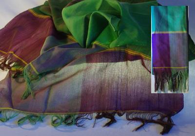 etole coton tissee main vert cambodge