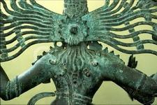 coiffure inde sculpture bronze chola